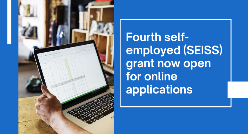 You are currently viewing Fourth self-employed grant now open for online applications