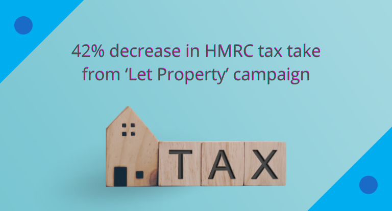 HMRC reveals a drop in buy-to-let tax disclosures